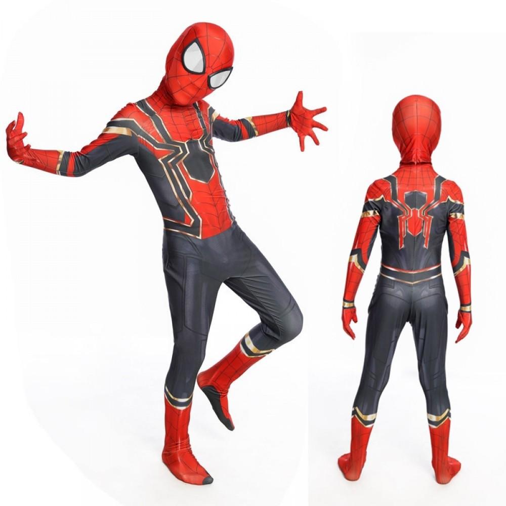 Iron Spiderman Kostüm Spiderman Kinderkostüm