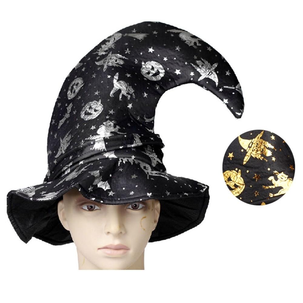 Zauberer Hexenhut für Fasching Halloween
