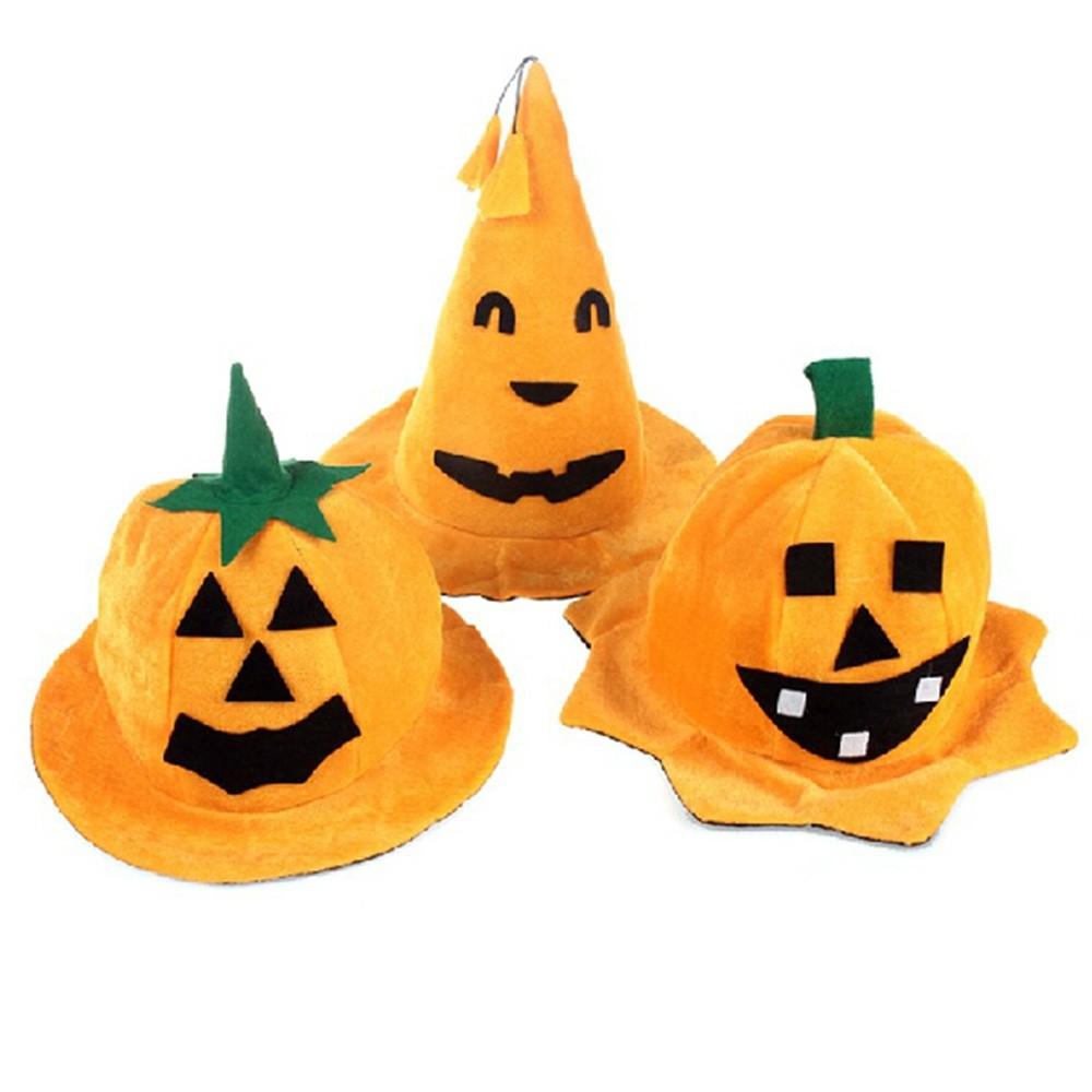 Halloween Kürbis Hut 3 Stücke