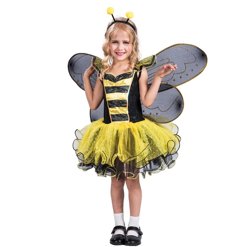 Kinderkostüm Biene Kostüm für Mädchen
