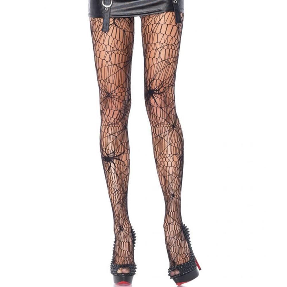 Damen Kostüm-Strümpfe Strumpfhose Halloween